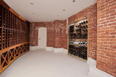 wine cellar Real estate photography